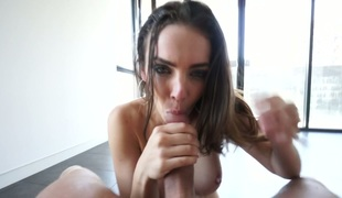 Irresistible brunette beauty Tiffany Tyler acquires fucked well