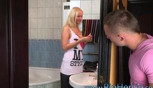 blonde hardcore par voyeur