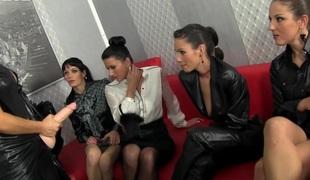 Bukkakke loving lesbian sluts cumpermeated