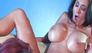 Fabulous pornstars Jayden Jaymes and Ava Addams in best cunnilingus, brunette xxx clip