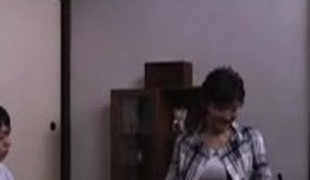 oriental mom sucked and drilled by that chap