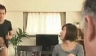 Japanese Mom blackmailed by Step Son 3