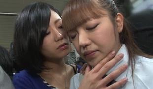 Japanese lesbian molester pt 2